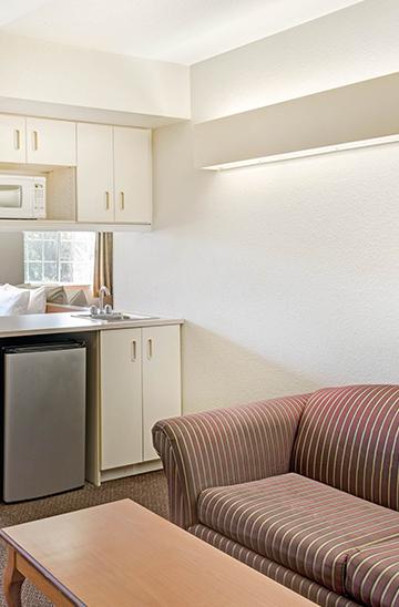 Spacious Guest Suites