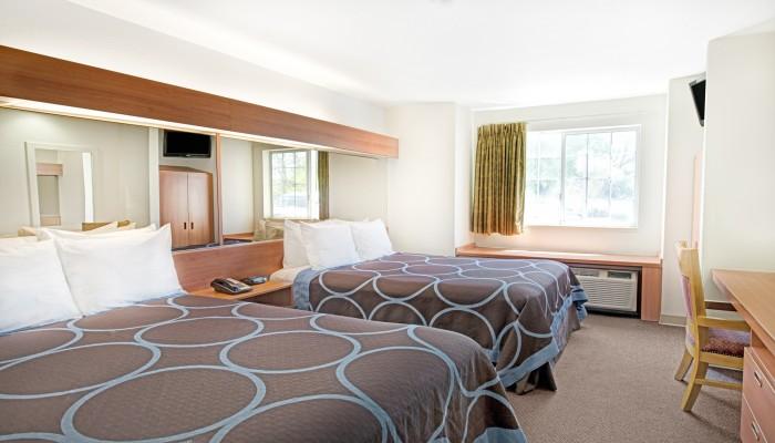 Two Queen Beds Guest Room